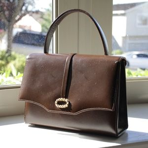 Vintage Brown Marchioness Handbag